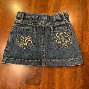 Girls jean skirt - size 3T